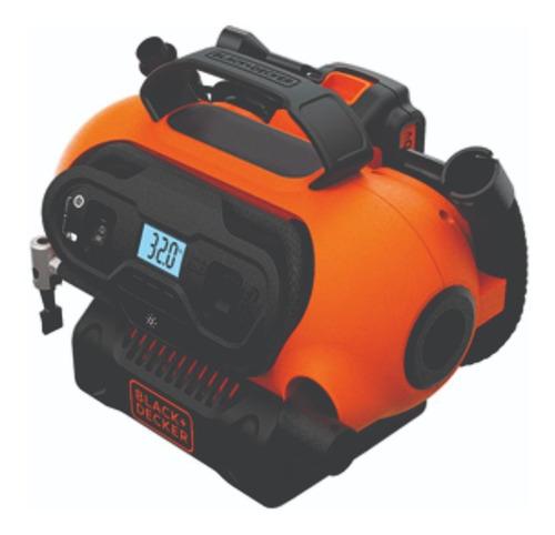 inflador inalambrico bateria 20 v black decker bdinf20qp