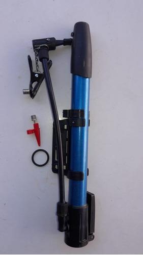 inflador mano bici