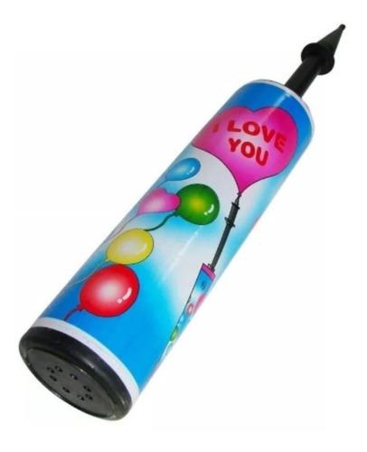 inflador manual de globos 33 cm