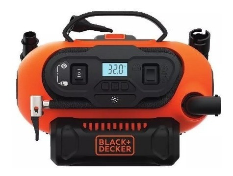 inflador multiproposito black decker bdinf20qp 20v digital