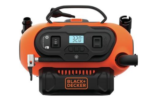 inflador multiuso black + decker 12v 20v y 220v bdinf20qp
