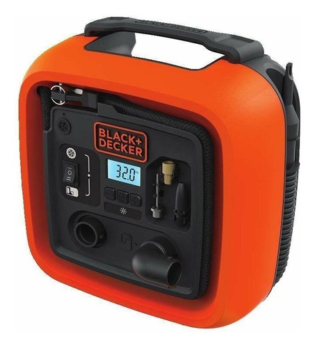 inflador multiuso black+decker 160 psi 8 amps