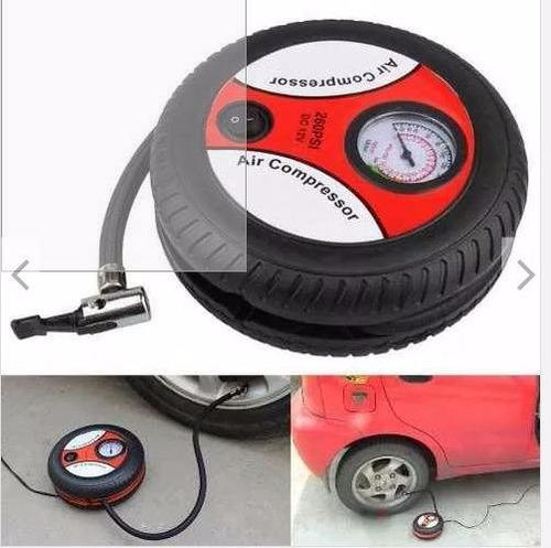 inflador portatil - para auto, motos y otros + adaptador