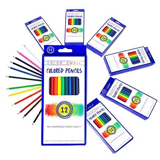 Inflamación De Color Lápices Paquete A Granel 30 Conjuntos 1 ...