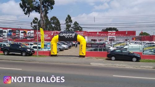 infláveis promocionais diversos modelos, notti balões