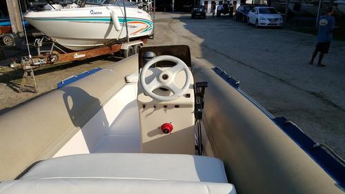 inflável triatlon 575 mercury 55 hp no zefir poddium nautica