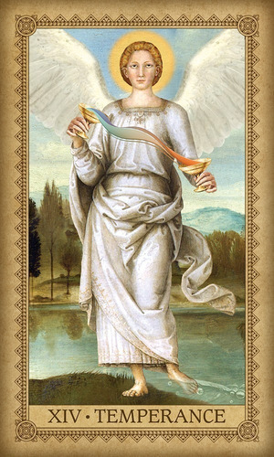 influence of the angels tarot, esta en ingles con su libr
