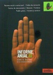 informe anual 2013 sobre el racismo en el estado español(lib