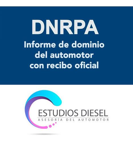 informe de dominio automotor auto moto dnrpa urgente online