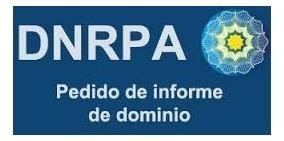 informe de dominio on line por registro- mandatario dnrpa