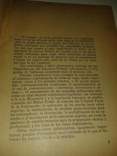informe del presidente lázaro cárdenas (1sep1936)