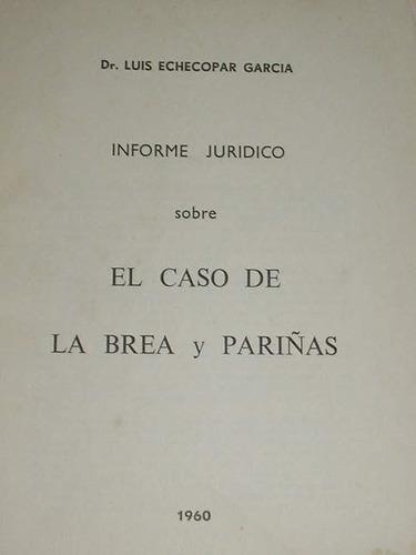 informe juridico sobre brea y pariñas