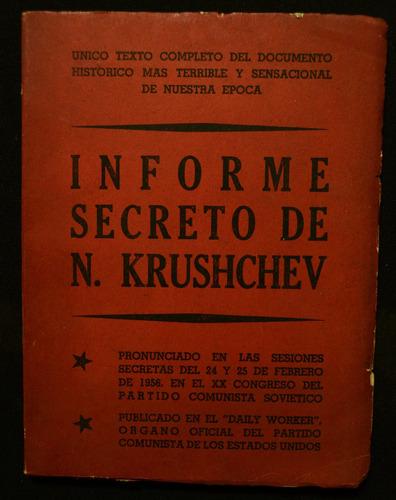 informe secreto de n. krushchev