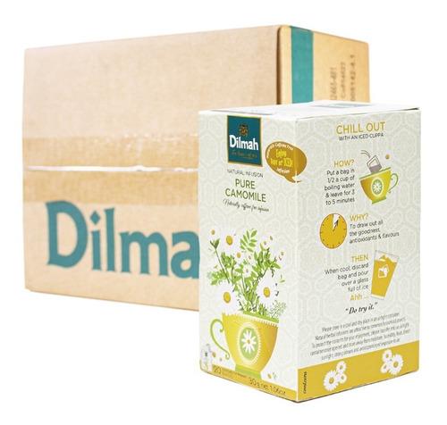 infusión dilmah manzanilla caja 6 unidades.