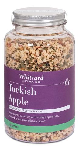 infusión frutal turkish apple whittard frasco 110g