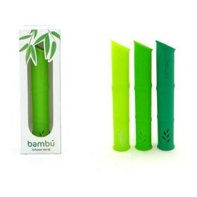Infusor De Té Bambú