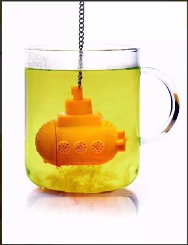 infusor de te colador yellow sumbmarine submarino beatles