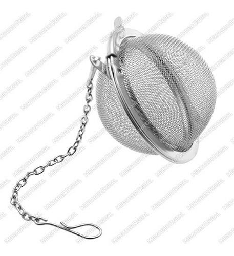 infusor de té en forma de bola con filtro de malla / esfera