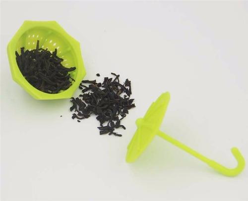 infusor de té paragüas fucsia - belgrano