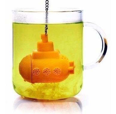 infusor silicon para te submarino amarillo, hierbas.