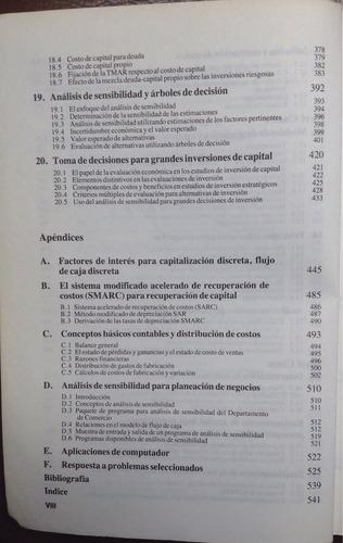 ingeniería económica - leland / tarquin