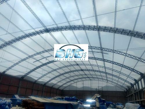 ingenieria en estructura metelicas, techos,mezanines,