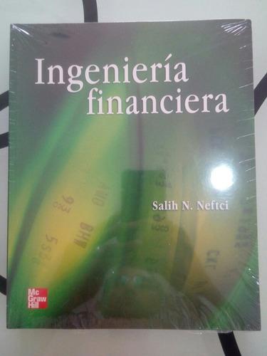ingenieria financiera libro nuevo importado original mcgrawh