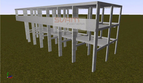 ingeniero civil cálculo estructuras hormigón acero metálicas