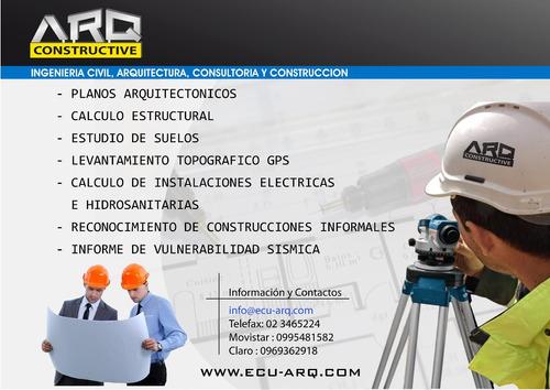 ingeniero civil planos estructurales eléctricos calculo