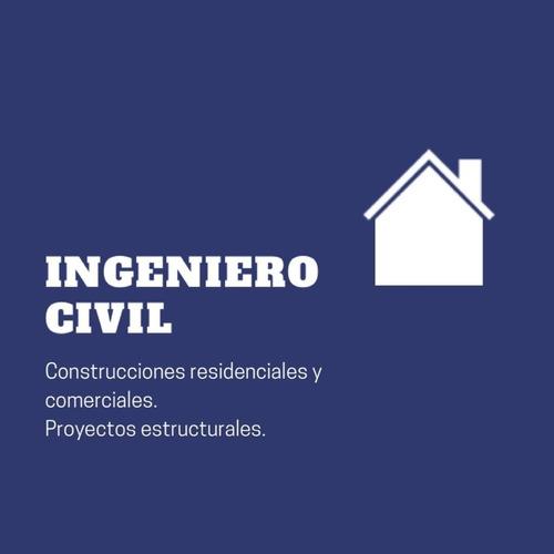 ingeniero civil - proyecto y construcción llave en mano