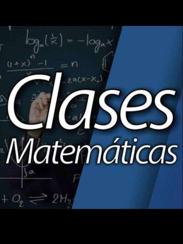 ingeniero dicta clases particulares de matemáticas