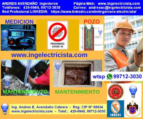 ingeniero electricista, ing. electrico colegiado habilitado