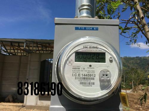 ingeniero eléctrico, medidor eléctrico, instalación eléctr