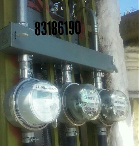 ingeniero eléctrico plano visado medidor