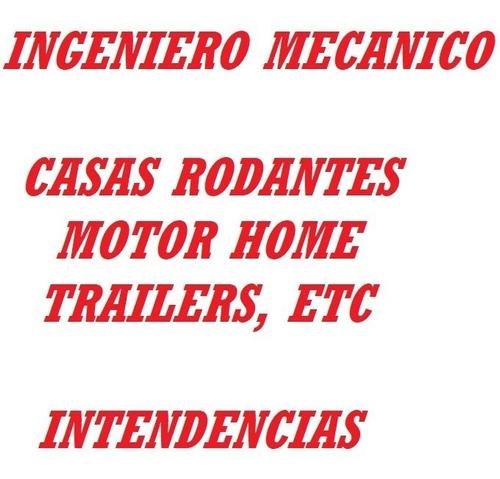 ingeniero mecánico automotriz. empadronamiento trailers.