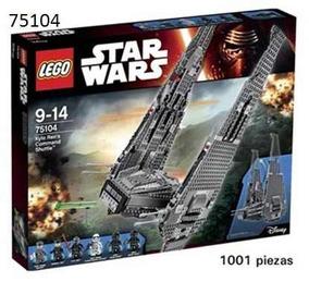 Star Wars Ren´s 75104 Command Kylo Lego Ingenio Shuttle Yfg67yb