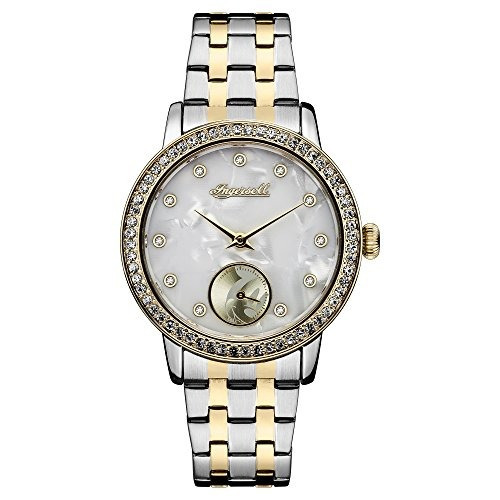 ingersoll womens quartz stainless steel casual watchmulti co