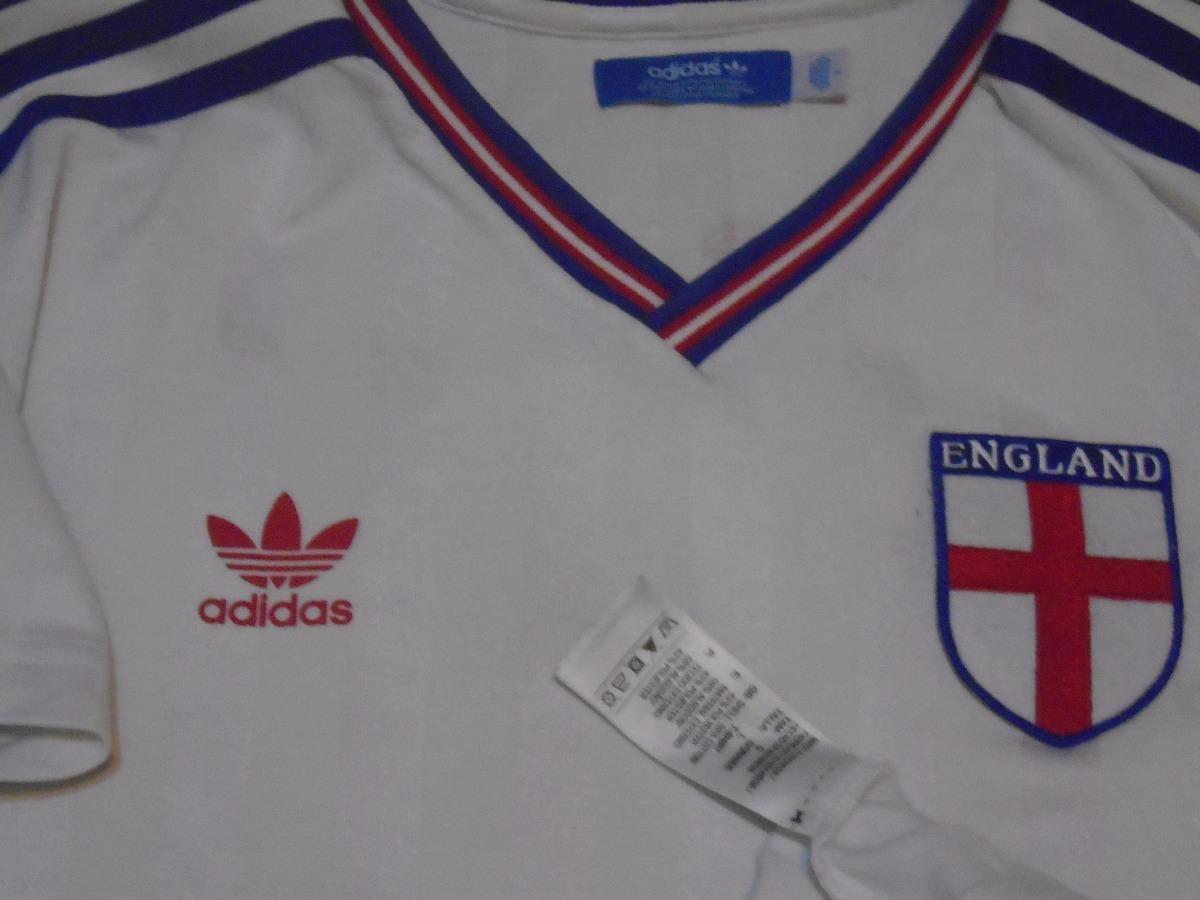 Cargando zoom... camiseta selección inglaterra reedición retro adidas 2012 l 30a024ec40735