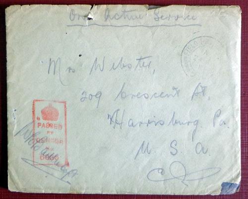 inglaterra, sobre censura inglesa wwi 1919 l8079