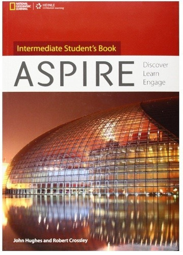 inglés aspire intermediate student's book + cd heinle natgeo