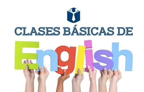 inglés básico - intermedio. s/.15 x hora.
