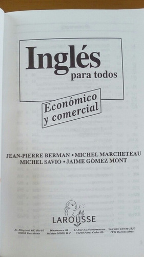 ingles economico y comercial = financial and business englis