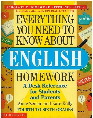 inglés, everything you need to know about english homework.