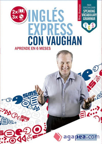 inglés express con vaughan - avanzado(libro idiomas)