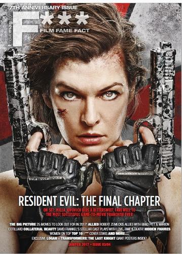 ingles - films fame fact cine  - resident evil
