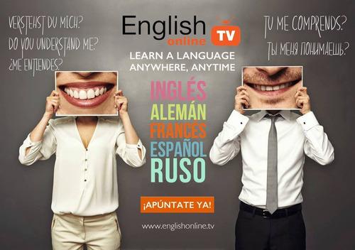 ingles frances alemán ruso españ online skype 1°clase gratis