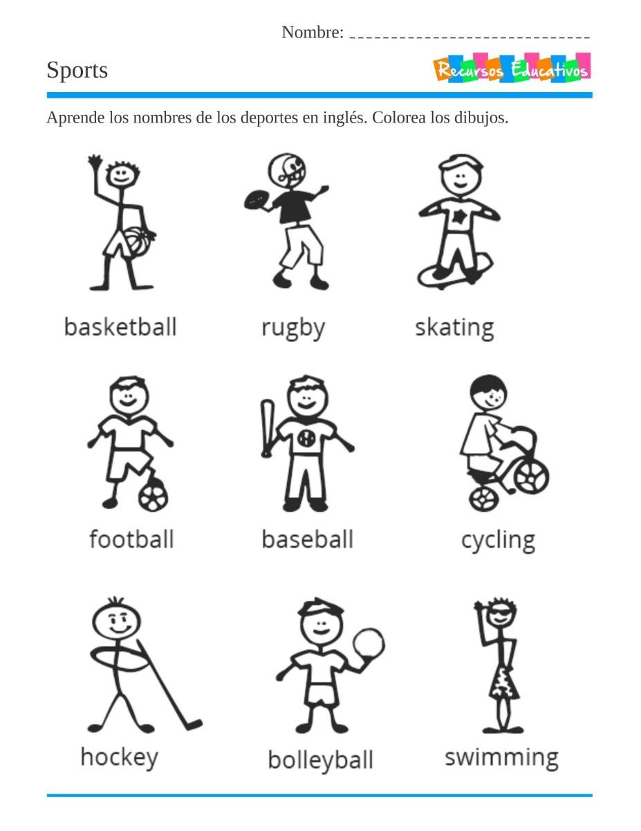 Inglés Para Niños Recursos Educativos
