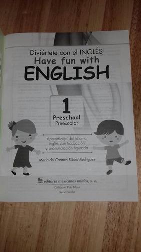 ingles para preescolar nivel 1
