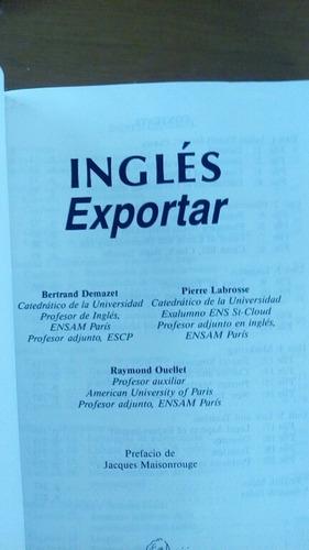 inglés para todos, exportar de idiomas larousse