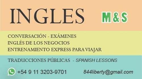 inglés particular - traducciones - spanish lessons